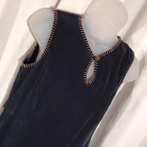 Carole Little 2 petite vintage 1980 modest dress