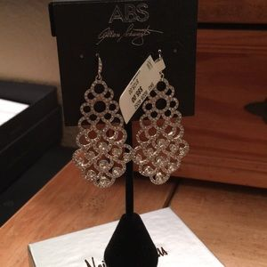 ABS by Allen Schwartz Chandelier Earrings NWT!