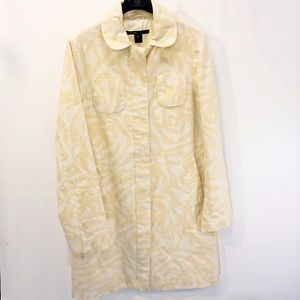 Marc Jacobs Yellow Print Trench coat GR661252
