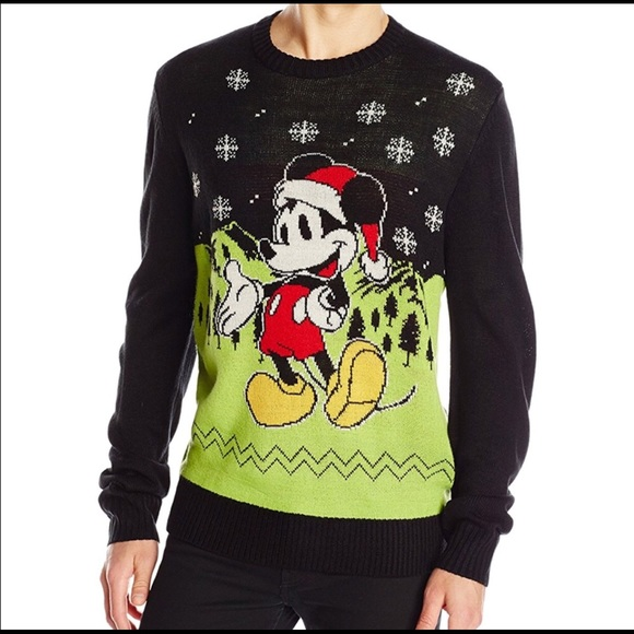 disney mickey mouse ugly tacky christmas sweater - Mickey Mouse Christmas Sweater