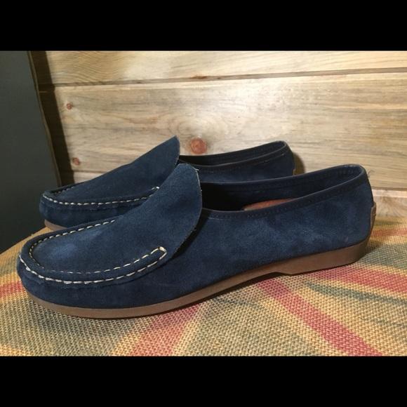 53c26b6a84f Bernardo Shoes - Bernardo Blue Suede Loafer-Size 9