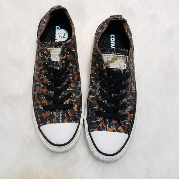 Converse Shoes - Converse Chuck Taylor Leopard LIKE NEW