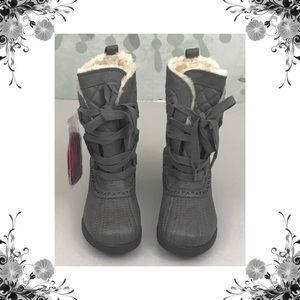 {Keds} Snowday Gray Waterproof Snowboots