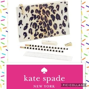 🆕 Kate Spade Leopard Pencil Bag