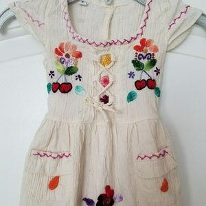 f211bd90da8 Handmaid Dresses - Authentic Little Girls Mexican Style Dress