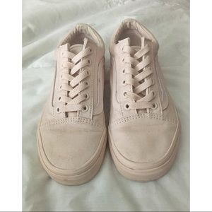 91ca7ee83d Vans Shoes - Vans Old Skool (Mono Canvas) Peach Blush