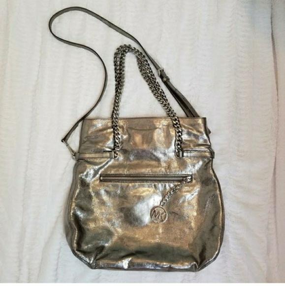 ba615d9b95570a Michael Kors Bags | Lacey Fold Over Cross Body Bag | Poshmark