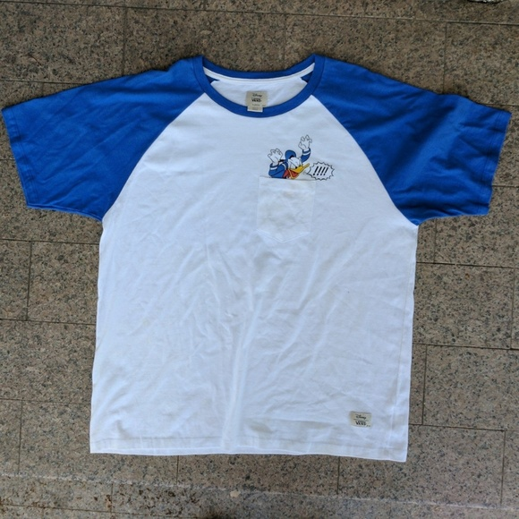 vans donald duck t shirt