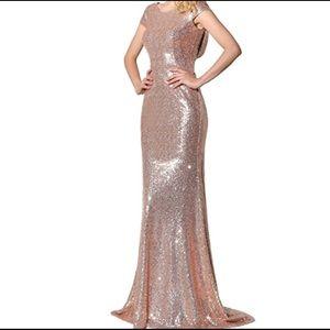 ✨🌷Rose Gold Sequins Dress 🌷✨