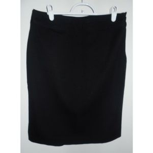 GAP Black Stretch Pencil Skirt, sz 6