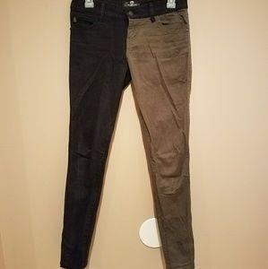 Royal Bones Split jeans