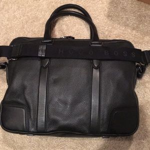 f8a7fac9cea Hugo Boss Bags | Morval 50261682 Leather Messenger Bag | Poshmark