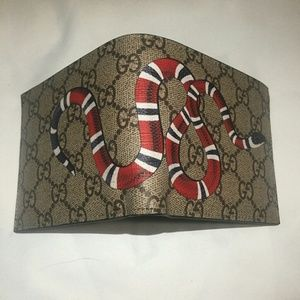 Gucci Wallet GG Snake Canvas