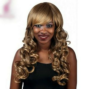 Accessories - Dirty blonde long curly wig