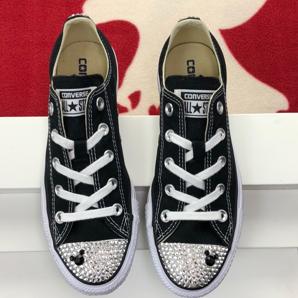 569670d740f5 Converse Shoes - Converse All Star Jeweled Micky Mouse Lows