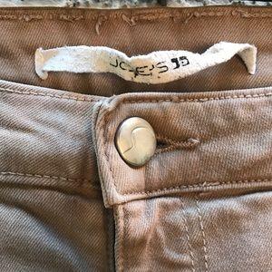 Joes Tan Skinny Pants. Size 28.