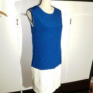 Dresses & Skirts - Silky Colorblock Dress