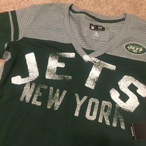 df44520f34d NFL Tops | New Womens Apparel New York Jets Mesh Top Med | Poshmark