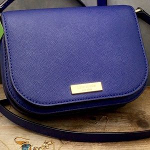 Handbags - Kate spade Laurel way Blue mini crossbody bag