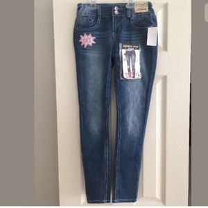 Imperial Star Jeans with Patches Size12NewwithTags
