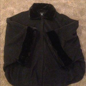 Jackets & Blazers - Black cape..Argee..one size