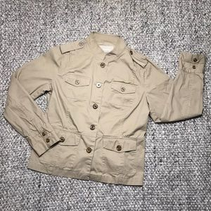Banana Republic Khaki Utility Jacket