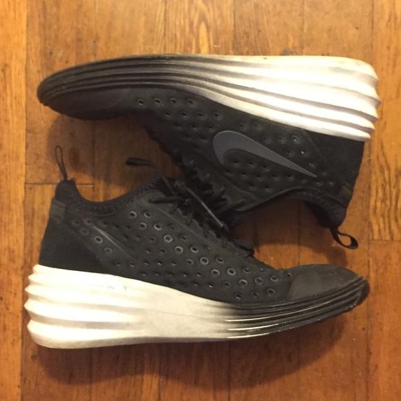 free shipping cd179 fad72 Nike LunarElite Sky Hi Wedge Sneakers. M 5a26abda522b45fabd016e16