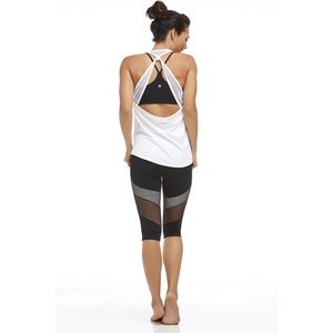 FABLETICS CROPPED MESH LEGGING SMALL