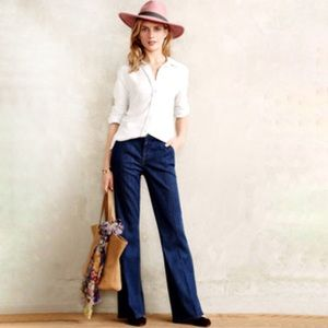 Level 99 27 Tanya High Rise Flare Jeans