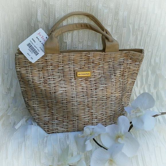 ... jim thompson bags luxury canvas tote poshmark ... 013884e6dd