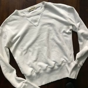 Madewell • rivet and thread white pullover