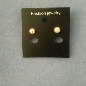 Jewelry - Yellow Cultured Pearl Stud Earrings