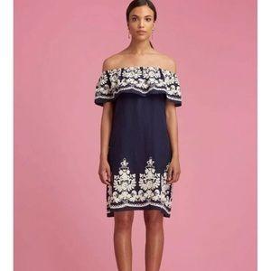 ECI Off the Shoulder Dress