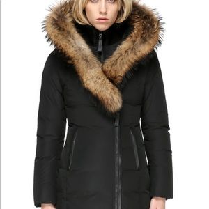Mackage winter down coat w/ fur