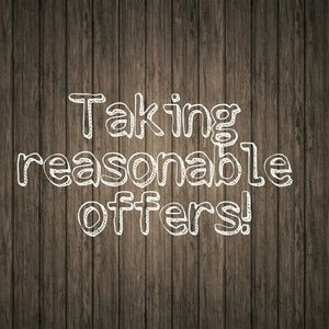 Other - Reasonable offers welcomed!
