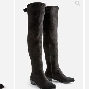 Just fab black over the knee boot