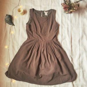 Esley brown formal dress