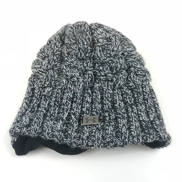 Under Armour Accessories - Under Armour Beanie Stocking Cap Hat Gray OS b89c575137b