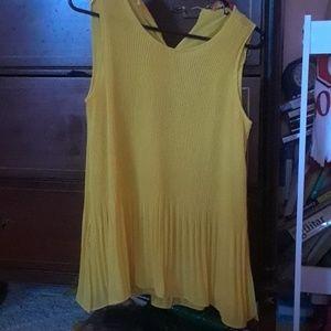 Catherine Malandrino yellow top