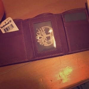 Other - Timberland Trifold Leather Wallet