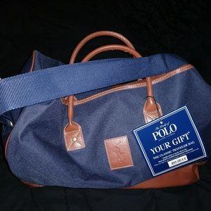 NWT Ralph Lauren duffle bag