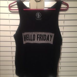 Hello Friday tank from Nordstrom! Worn no damages