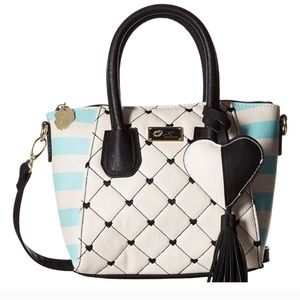 luv by betsey johnson • giyaa dome mini satchel
