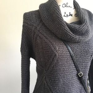 Sonoma Life + Style Cowl neck knit sweater