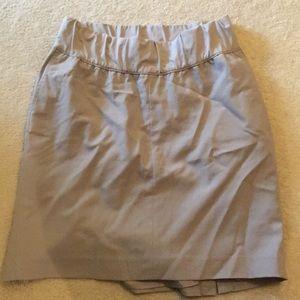 Grey Gap Maternity Skirt