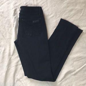 Joes Jeans Black Skinny Visionaire