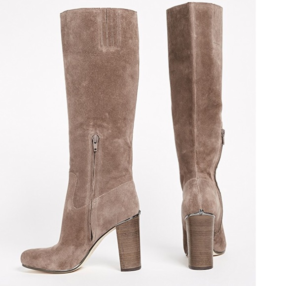 Michael Kors Suede Knee High Boots Nib