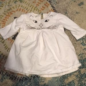 Other - Cat face dress for baby
