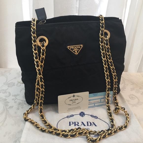 baf43756b282 Prada Milano Logos Chain Shoulder Bag. M_5a2edb3f2599fe511c04ab93