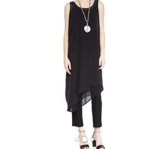 🎉HP 🎉 Eileen Fisher asymmetrical silk  tunic